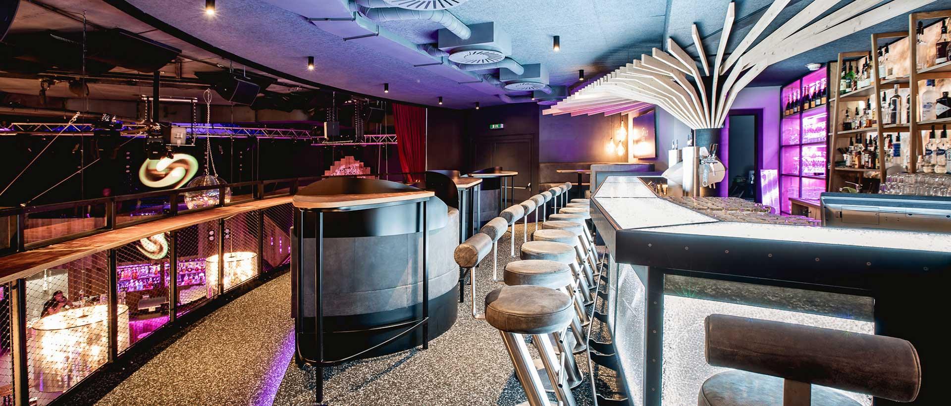 Kristall-Lounge im Katapult Sölden